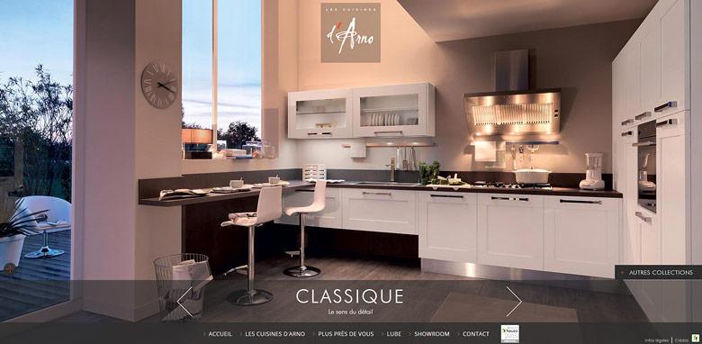 création site web cuisinite à lyon.