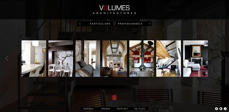 Refonte site web architecte à Lyon