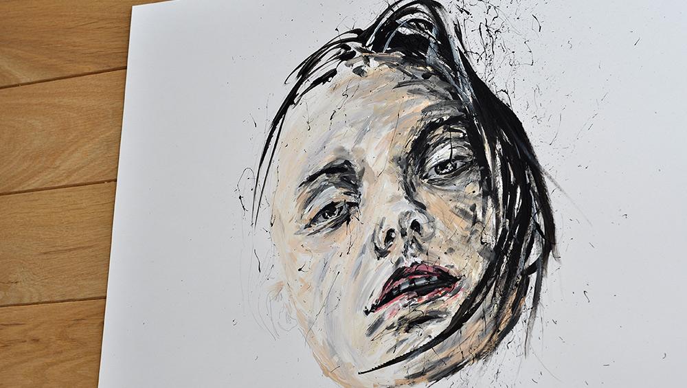 Peinture Acrylique Portraits à Lyon