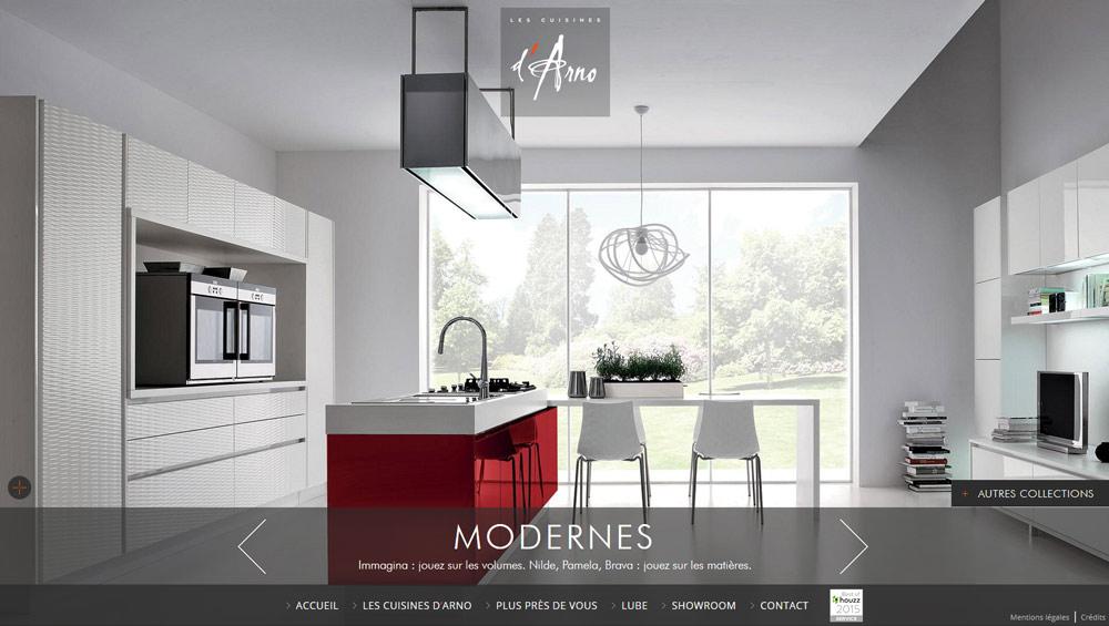 les cuisines d 39 arno cr ation site web lyon. Black Bedroom Furniture Sets. Home Design Ideas